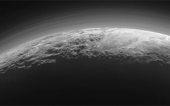 New Pluto Panorama Leaves Astronomers Stunned