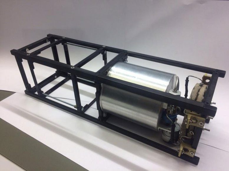New Propulsion System for Nanosatellites