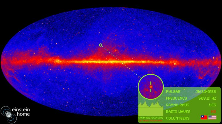 New Pulsar Fermi Gamma ray Space Telescope