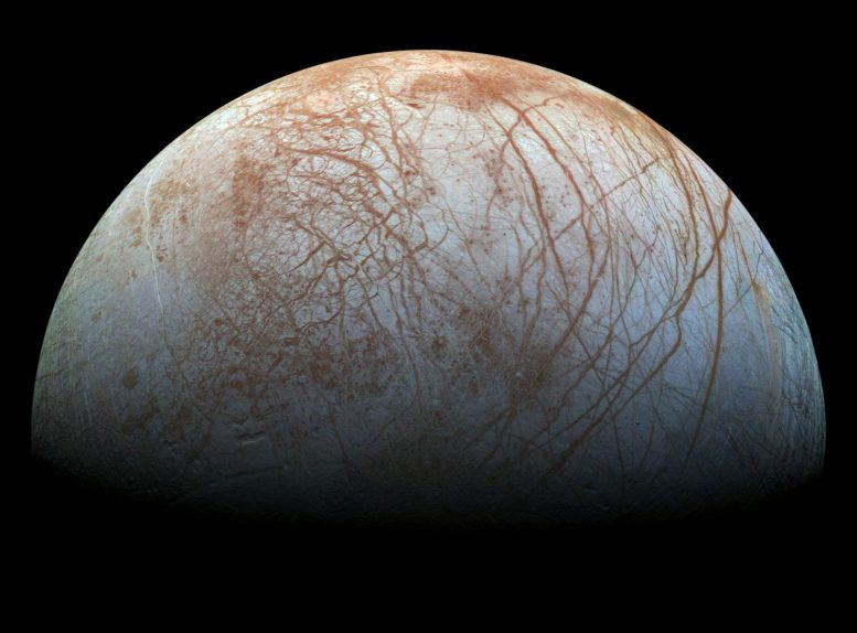 New Research Bolsters the Possibility of Plate Tectonics on Europa