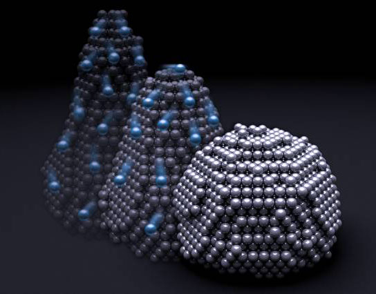 New Research Shows Solid Nanoparticles Can Deform Like a Liquid