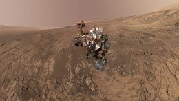 New Self-Portrait of NASA's Curiosity Mars Rover