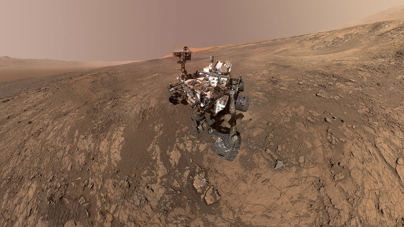 New Self-Portrait of NASA's Curiosity Mars Rover on Vera ...