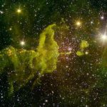 New Spitzer Image of the Spider Nebula