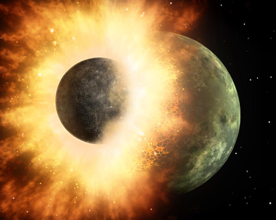 New Study Finds Twist on Planetary Origins