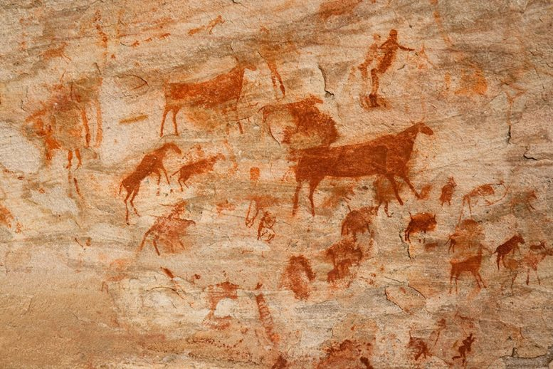 New Study Links Ancient Drawings with the Origin of Language