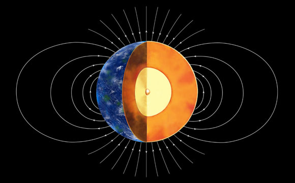 New Study Reveals Earth's Inner Core was Formed 1 – 1.5 Billion Years Ago