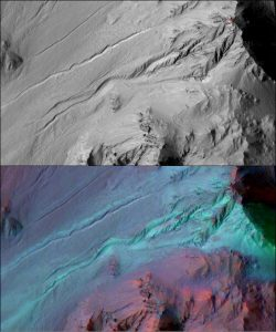 New Study Shows Mars Gullies Not Formed by Liquid Water