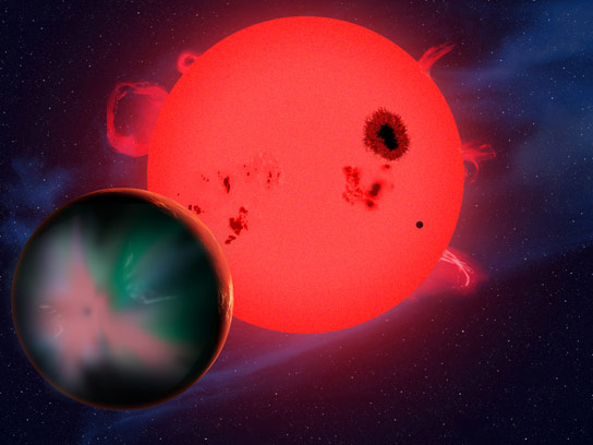 New Research Reveals Harsh Space Weather May Doom Potential Life on Red-Dwarf Planets