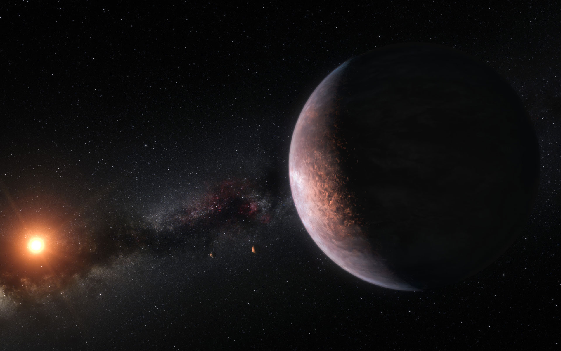 trappist 1 exoplanets potentially hold more water than earth. Black Bedroom Furniture Sets. Home Design Ideas