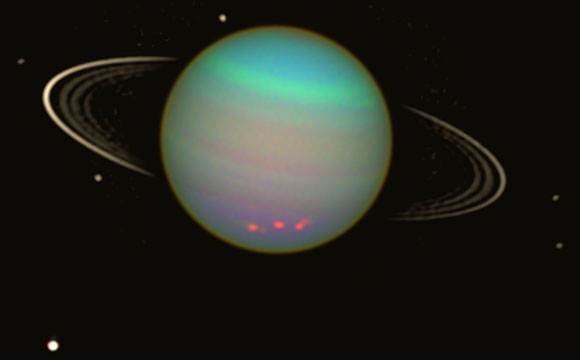 New Study Suggests Uranus May Have Two Undiscovered Moons