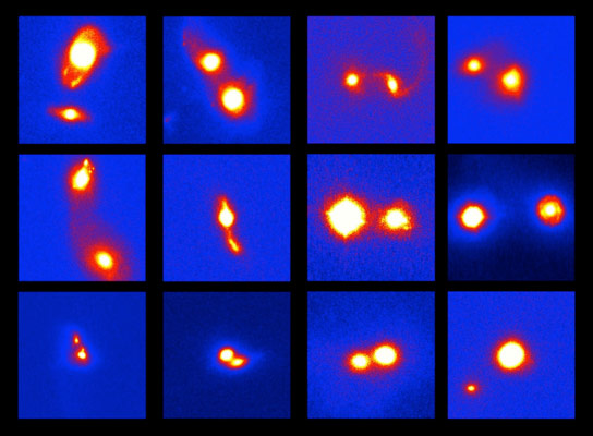 New Subaru Telescope Images of Merging Galaxies