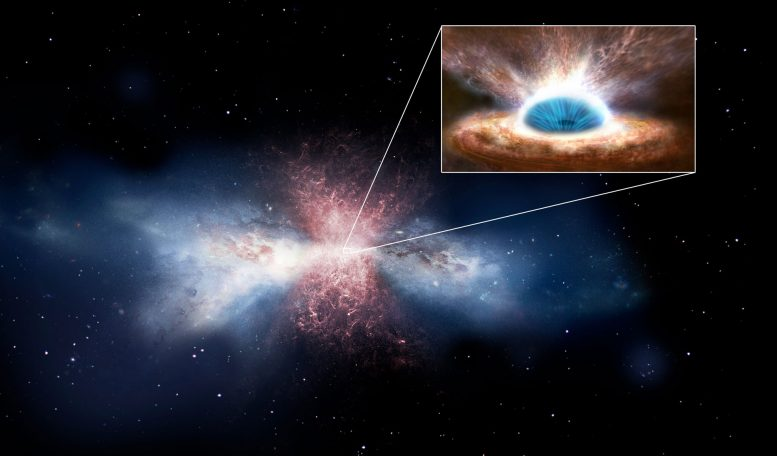 New Theory Predicts Origins of Molecules in Destructive Cosmic Outflows
