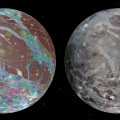 New Vview of Jupiters Moon Ganymede