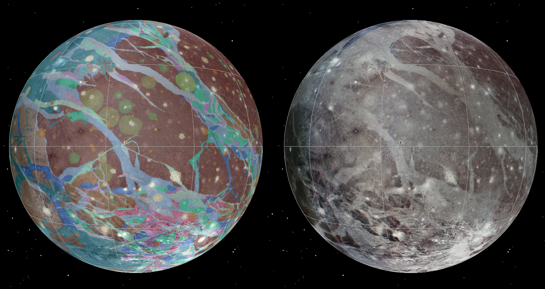 Scientists Produce Geologic Map of Jupiter's Moon Ganymede