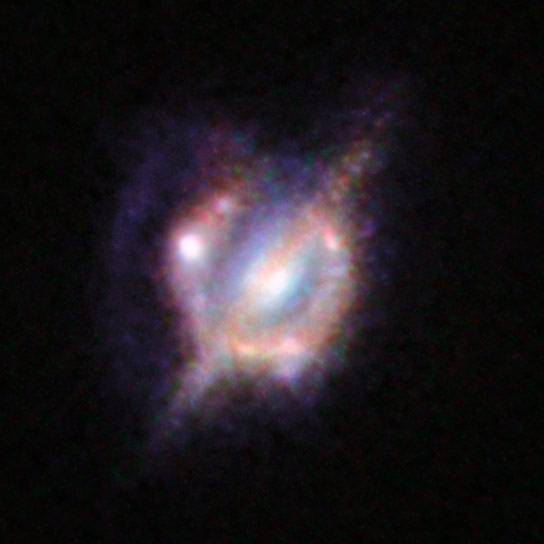 New View of Merging Galaxies in the Distant Universe