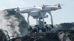 New Volcano Drone Technology
