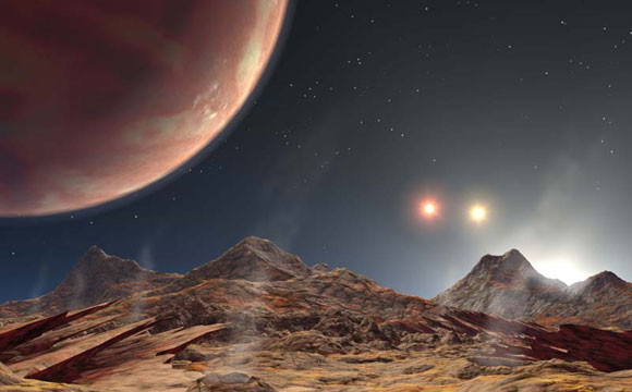 Newly Discovered Hot Jupiter KELT-4Ab Boasts Rare Triple Suns