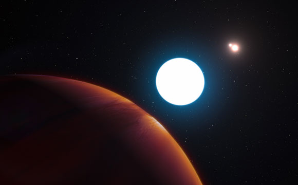 Newly-Discovered Planet Has 3 Suns