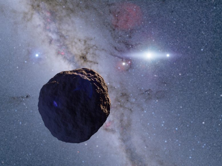 Newly Discovered Space Object