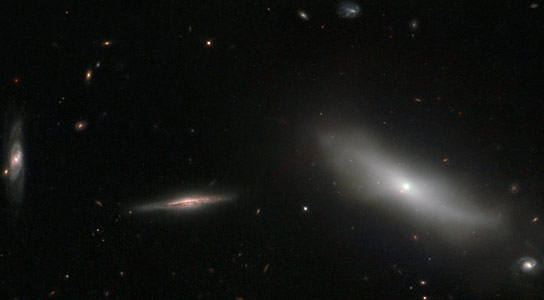 Newly Released Hubble Image Shows a Handful of Galaxies in the Constellation of Eridanus