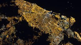 Night Image of Barcelona