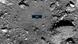 Nightingale Sample Site on Bennu