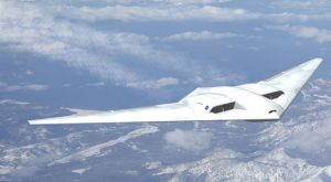 Northrop Grumman's concept extremely aerodynamic flying wing design