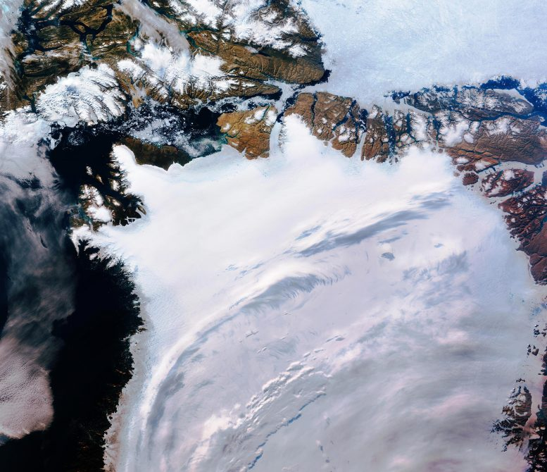 Northwest Greenland From Space