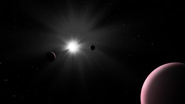 Golden Target: Unique Exoplanet Photobombs CHEOPS Study of Nearby Star System