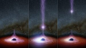 NuSTAR Discovers a Major Black Hole Flare