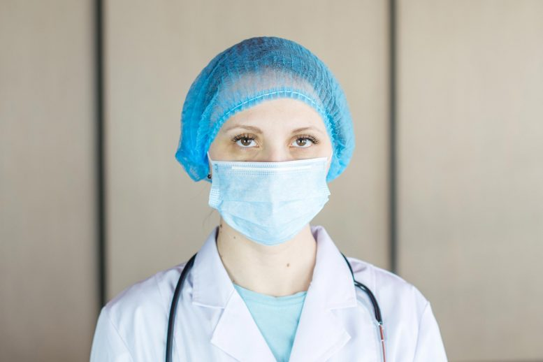Nurse Wearing Face Mask