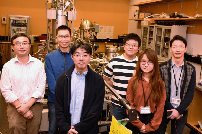 OIST Energy Materials and Surface Sciences Unit Scientists