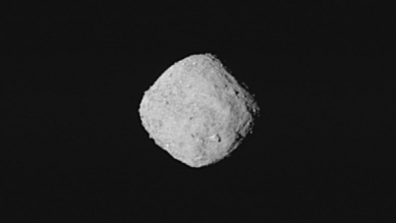 OSIRIS REx Captures Super Resolution Image of Bennu