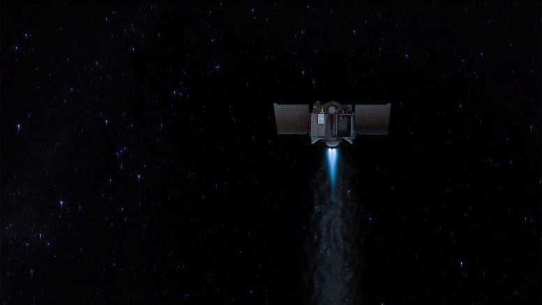 OSIRIS REx Executes First Asteroid Approach Maneuver