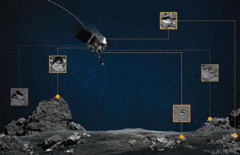 OSIRIS-REx Natural Feature Tracking