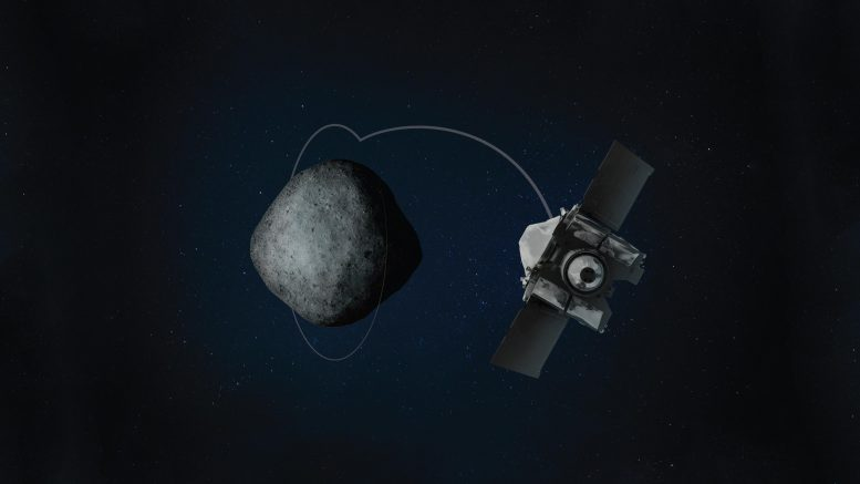 OSIRIS REx Orbits Asteroid Bennu