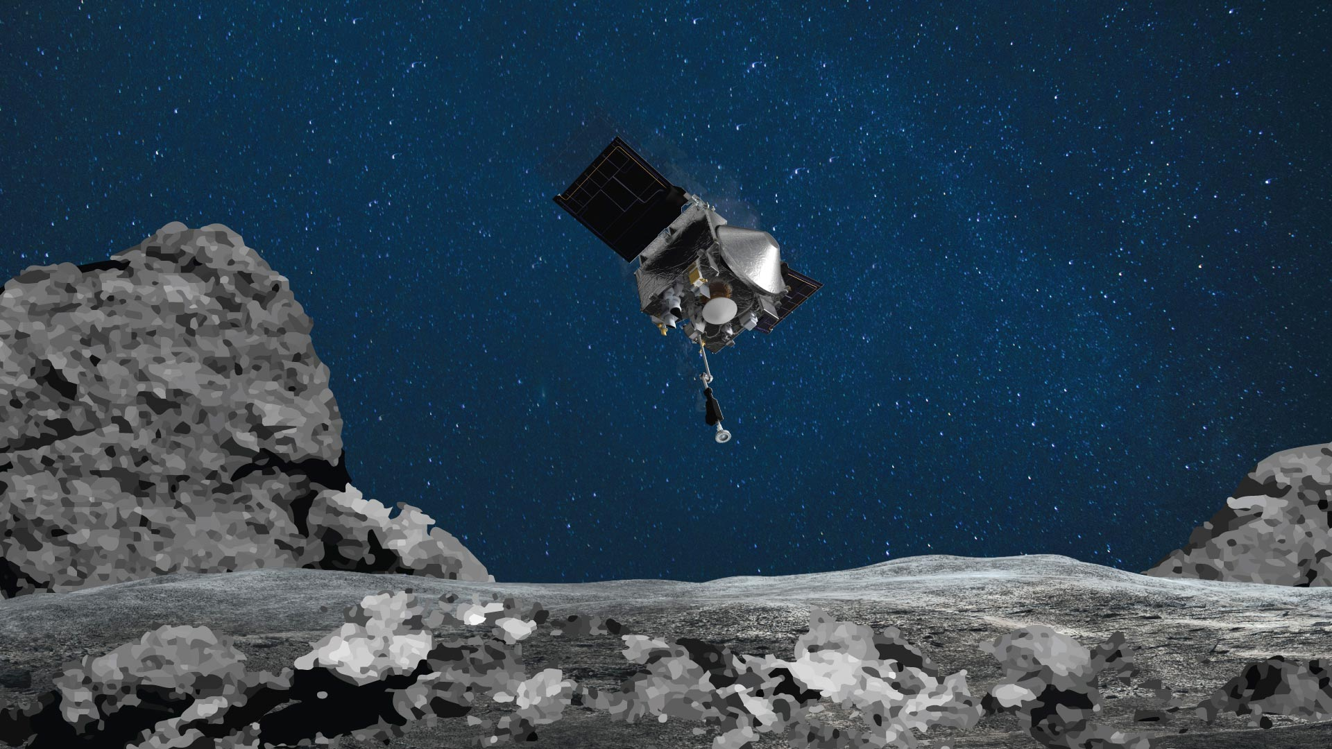 NASA�s OSIRIS-REx Spacecraft Officially Ready for Touchdown on Asteroid Bennu - SciTechDaily