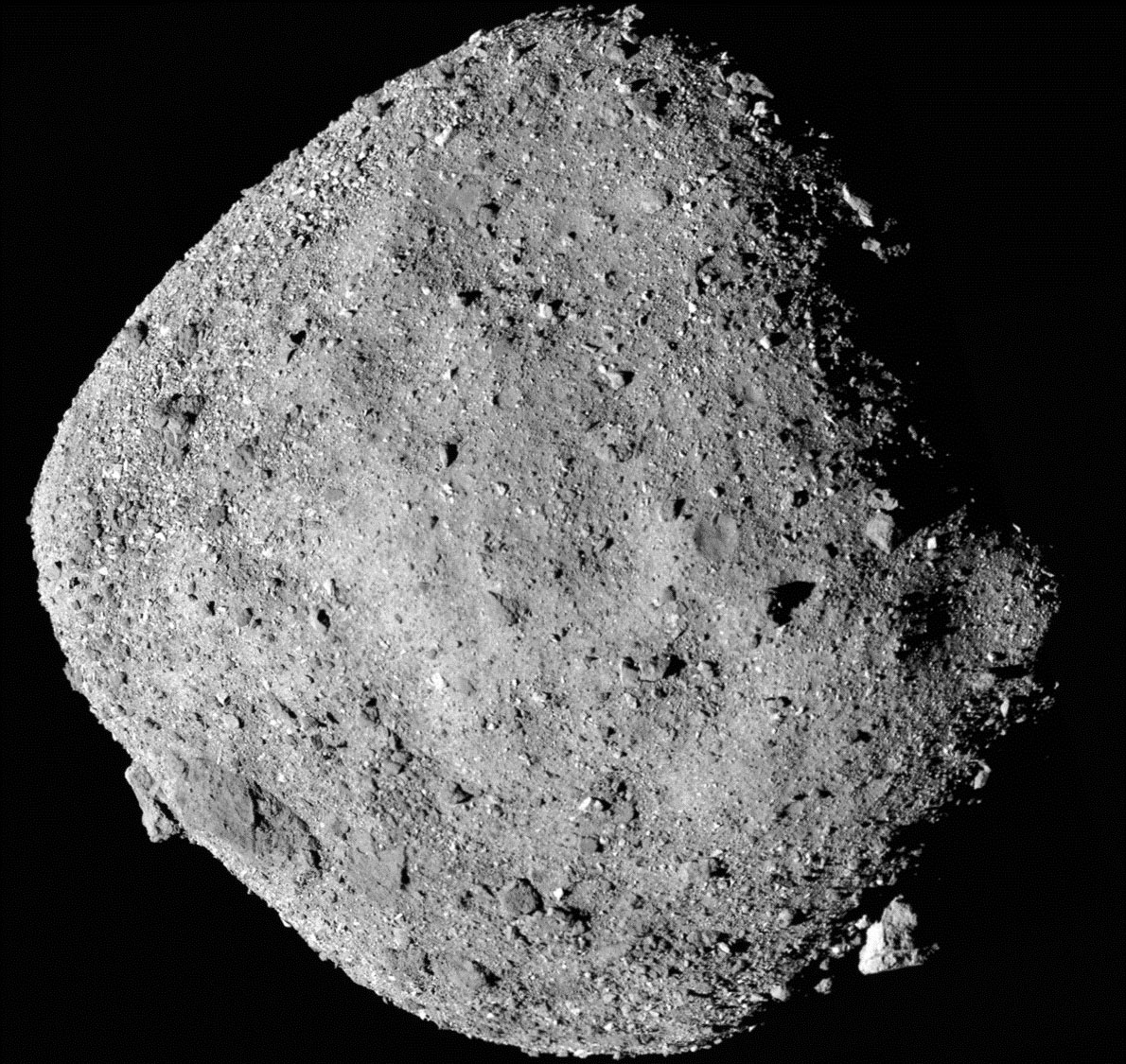 REx Mission Discovers Water in Clay Deposits on Asteroid