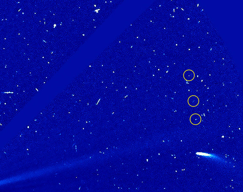 Observations Show Comet 96P is Still Evolving