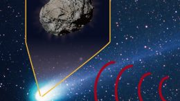 Observing a Comet in Thermal Infrared Wavelengths Crop