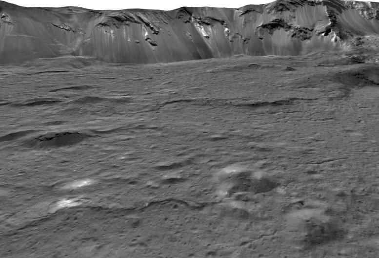 Occator Crater Close-Up