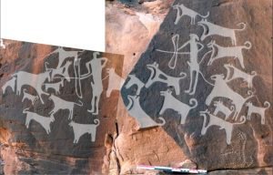 Oldest Images of Dogs on Leashes to Date
