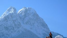 On the Zugspitze