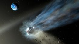 Oort Cloud Comet Illustration