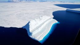 Operation IceBridge Views Blue Ice