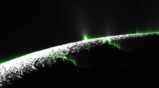 Optical Illusion Responsible for Individual Jets on Saturn's Moon