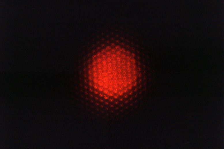 Optical Micrograph Luminescent Substrate