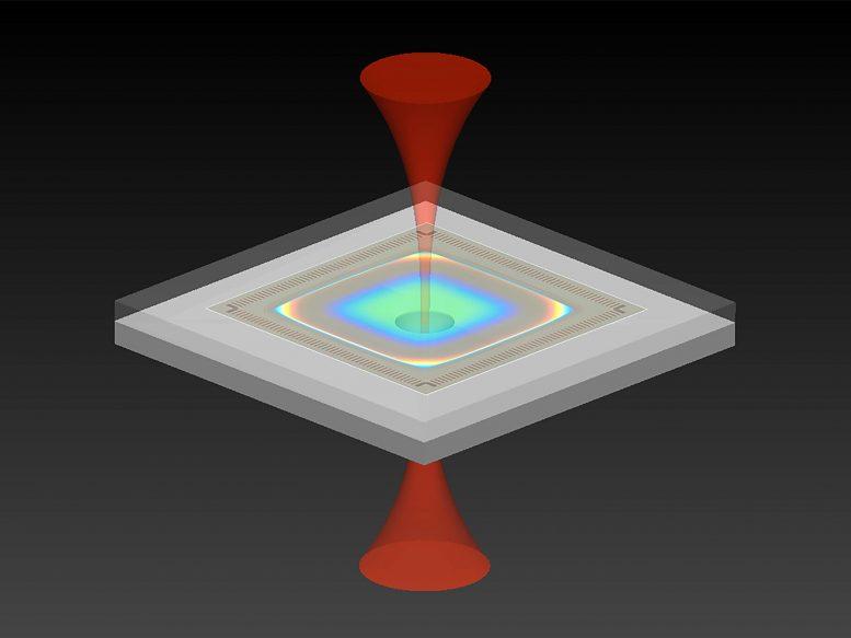 Optomechanical Accelerator