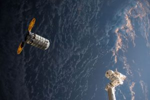 Orbital ATK's Cygnus Resupply Ship Approaches the International Space Station